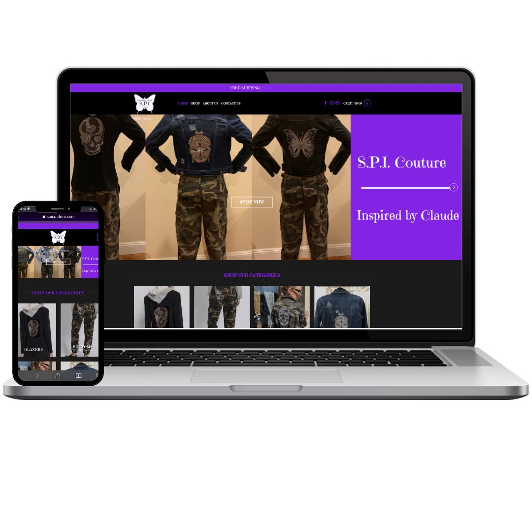 solomon watson - web design client